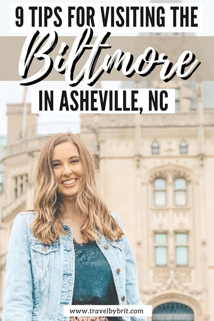 Tips for Visiting the Biltmore in Asheville