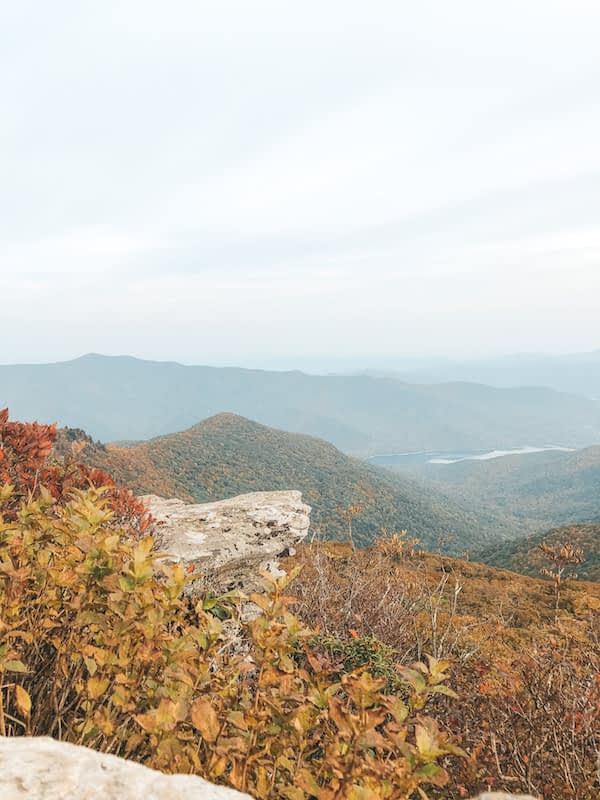 Southeast Road Trip - Asheville, North Carolina - Craggy Pinnacle Hike - Travel by Brit