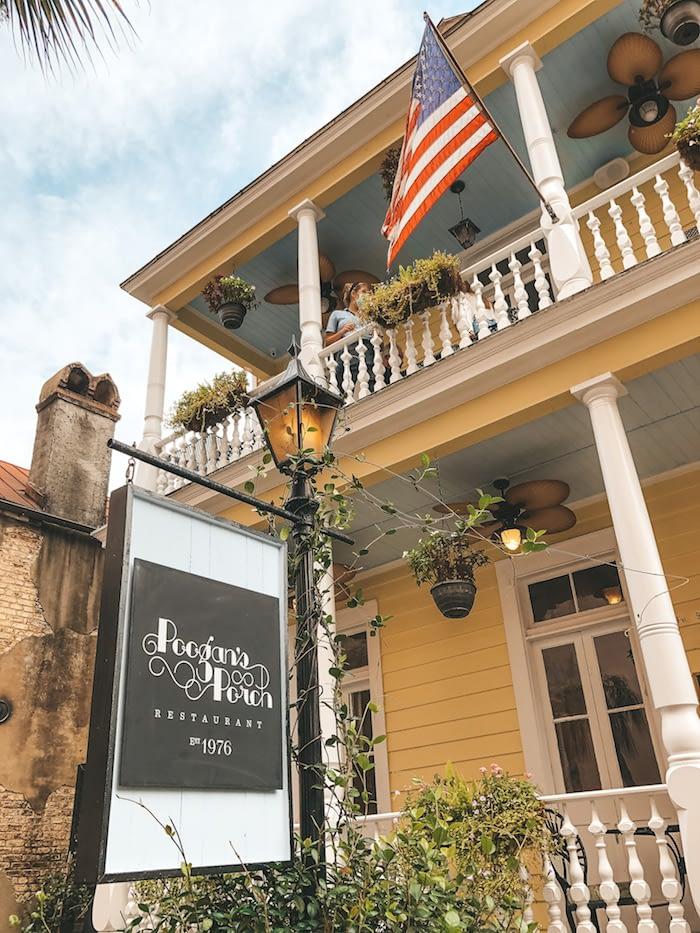 Southeast Road Trip - Charleston, South Carolina - Poogan's Porch - Travel by Brit