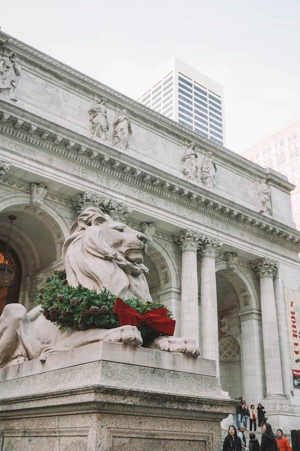 Christmas in Cities - NYC - Tall Girl Big World