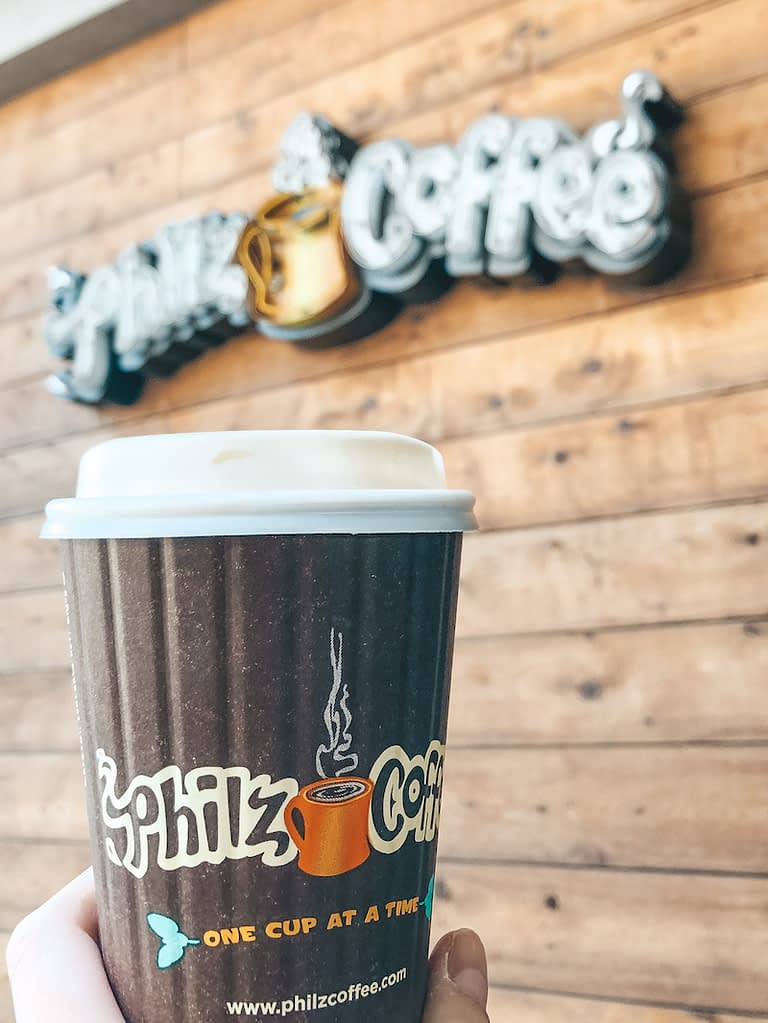 Things to Do in Huntington Beach - Philz Coffee - Travel by Brit