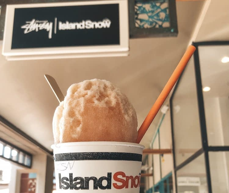Best Places to Eat on Oahu - Island Snow - Best Shave Ice Oahu