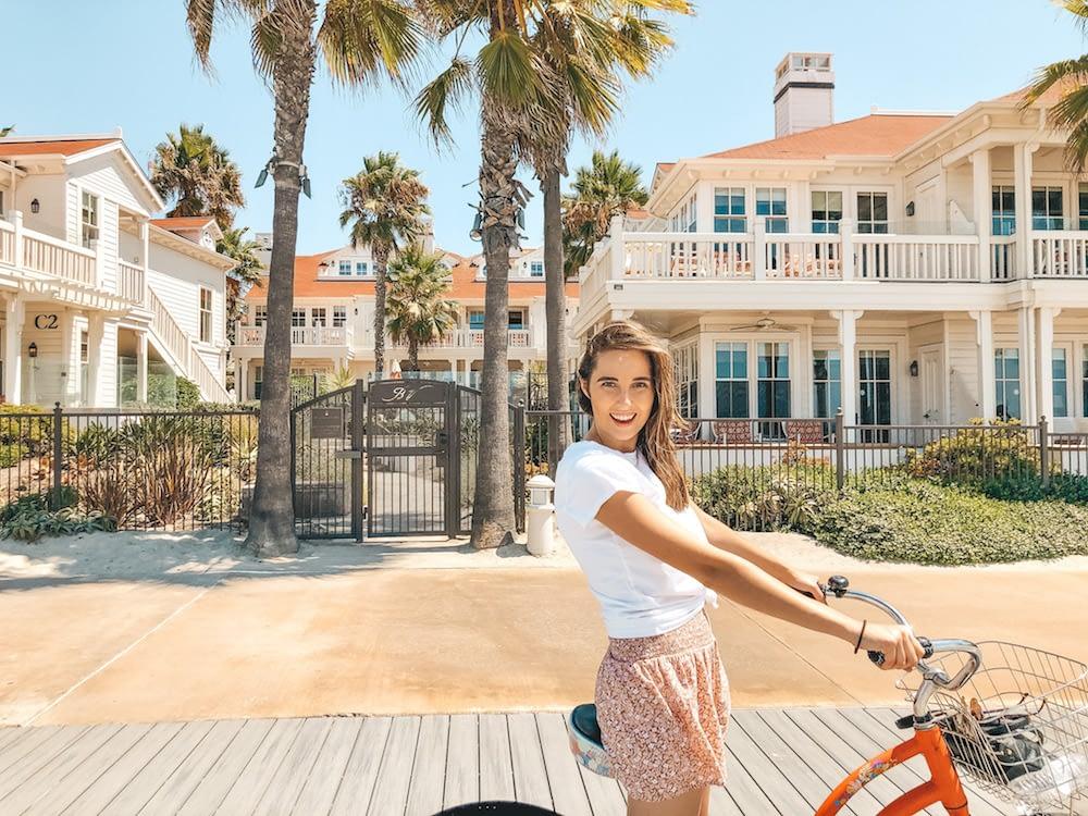 Things to Do on Coronado Island - Biking on the Silver Strand - Travel by Brit