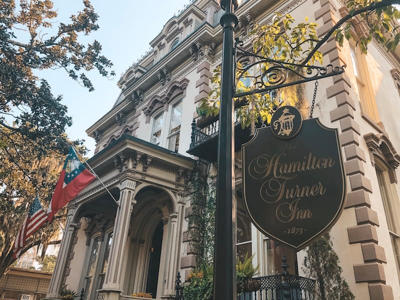 Haunted Savannah Locations - The Hamilton-Turner Inn - Travel by Brit