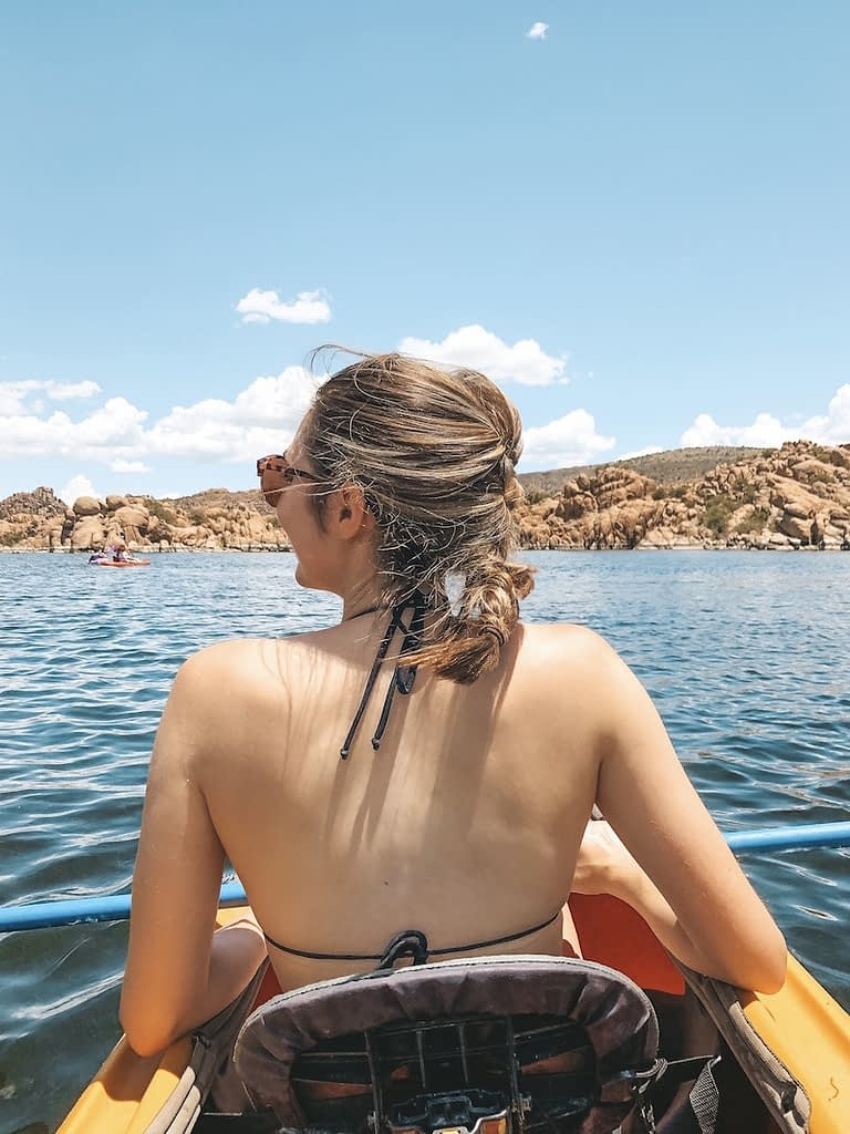 Best Things to Do in Prescott - Kayaking at Watson Lake - Travel by Brit