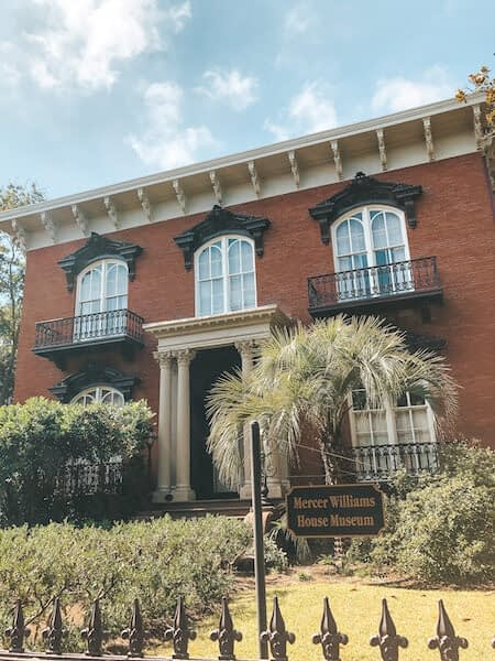 Haunted Savannah Locations - The Mercer-Williams House - Travel by Brit