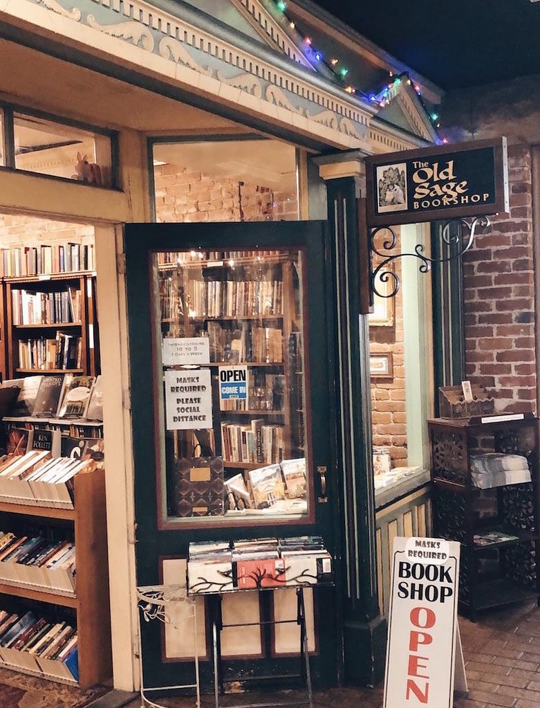 Old Sage Bookshop - Travel by Brit