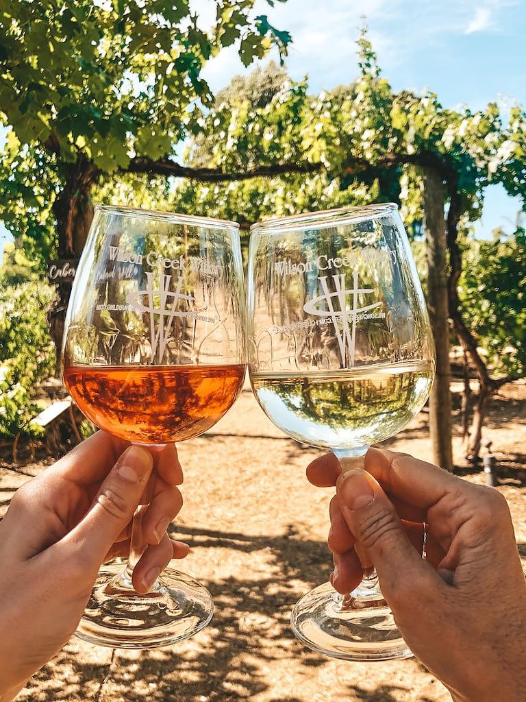 Best Wineries in Temecula - Wilson Creek Winery - Travel by Brit