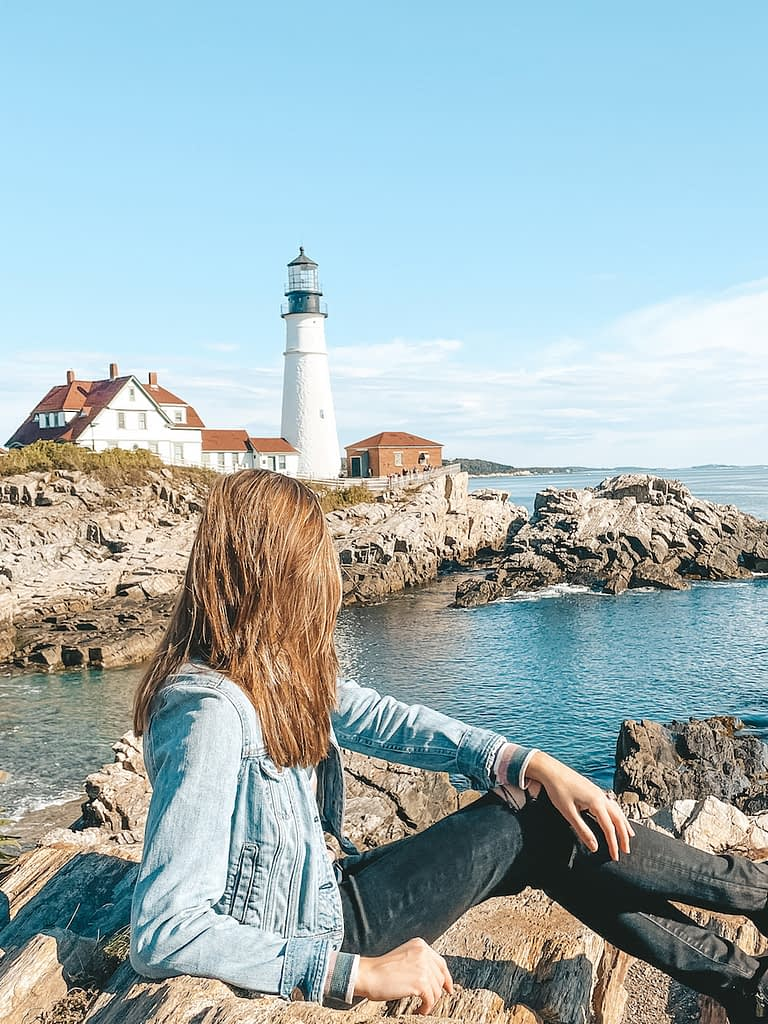 Best Things to Do in Portland, ME - Portland Head Light - Travel by Brit