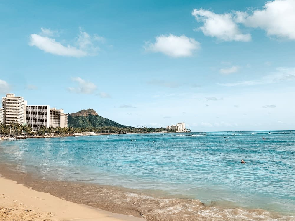 Best Things to Do on Oahu for Free - Waikiki Beach - Travel by Brit