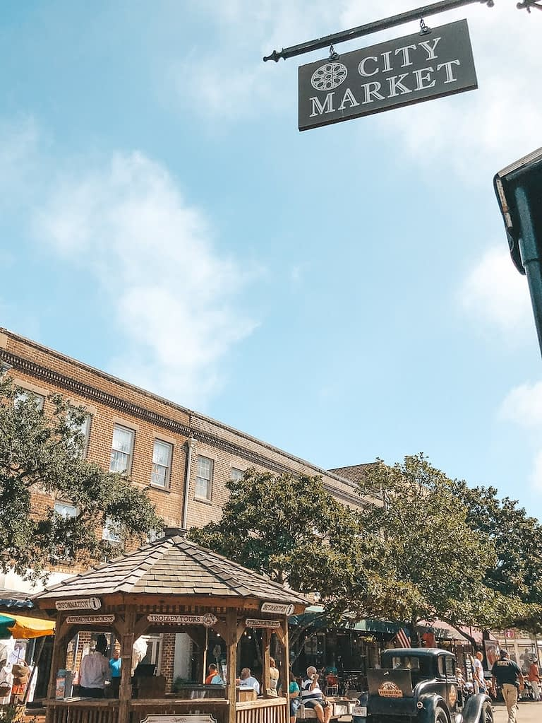 City Market in Savannah - Best Things to Do in Savannah - Travel by Brit